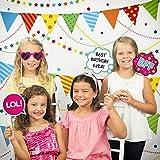 女の子誕生日パーティー写真ブースキット