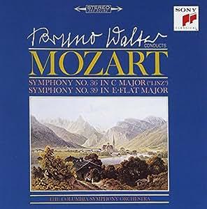 モーツァルト : 交響曲第36番「リンツ」&第39番