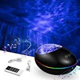 Galaxy Projector, Star Light Projector for Bedroom, Ocean Wave Projector Night Light Projector with Bluetooth Music Player Ti