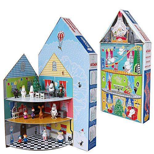 ムーミン Moomin フィギュア ムーミンハウス クリスマス アドベントカレンダー2017