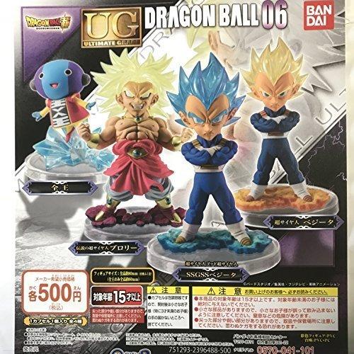 ドラゴンボール超 UGドラゴンボール06 全4種セット