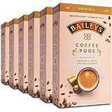 Baileys Nespresso Compatible Coffee Pods Original Irish Cream Australian Packed - 60 Pods (6x10 Pods Pack)