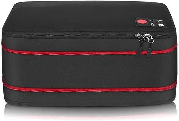 旅行 圧縮バッグ 最新版 ファスナー ジッパータブ付き 超大容量 50%容量節約 防水 軽量 収納バッグ 出張 ジム 衣類 荷物 着替え タオル 便利グッズ