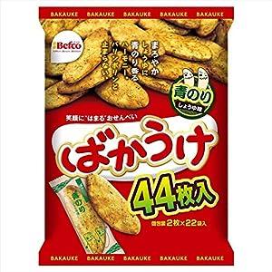 栗山米菓 ばかうけ青のり 44枚入