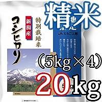 新潟県産コシヒカリ JAえちご上越(特別栽培米) 精米20kg(5kg×4) 新潟ケンベイ