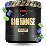 Redcon1 Big Noise Pump Formula (30 Servings) - Non-Stim, Increased Energy and Focus, Vasodilator, Intense Pumps (Sour Gummy B