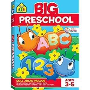 Big Preschool Workbook: Ages 3-5