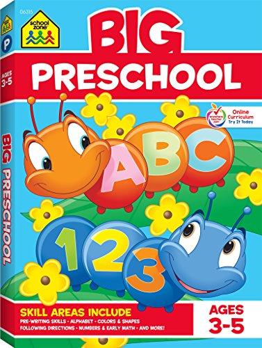 Big Preschool Workbook: Ages 3-5 (Big Get Ready Workbook)