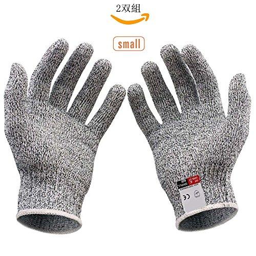 [해외]耐切 창 장갑 Vilcome 방지 칼날 장갑 군 수작업 장갑 작업 장갑 耐切 창 레벨 5 내마모성 마모 수준 4 ~ 6 2 쌍 세트/Cutting-resistant gloves Vilcome Protective blade gloves Army Manual hand gloves Work glove Cutting resistance level 5 A...