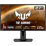 ASUS TUF Gaming VG27AQ HDR Gaming Monitor – 27 inch WQHD (2560x1440), IPS, 165Hz (Above 144Hz), Extreme Low Motion Blur Sync