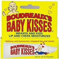 Boudreaux's Baby Kisses Lip & Cheek Moisturizer, 0.35 Ounce (Pack of 6)
