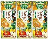 カゴメ 野菜生活100 デコポンミックス 195ml×3本