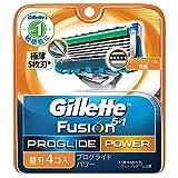 ジレット プログライドパワー替刃 4B × 5個セット