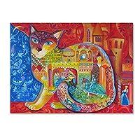 商標FineアートMiddle Ages by Oxana Ziaka 14x19 ALI11407-C1419GG