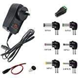 GutReise AU 30W Universal Power Supply Adapter 100-220V TO 3V 4.5V 5V 6V 7.5V 9V 12V Adjustable DC Charger Adapter Switching