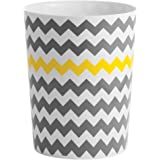 (Waste Can) - InterDesign Chevron Waste Can