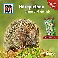 WAS IST WAS 5-CD Hoerspielbox Natur und Mensch: 5 Hoerspiele und ein Quizblock praktisch und hochwertig verpackt in einer aussergewoehnlichen Sammler-Box