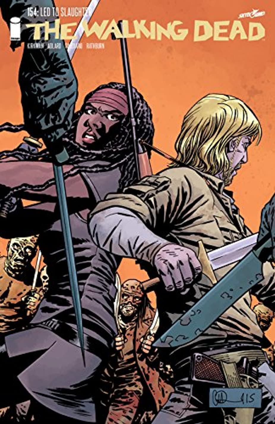 ラフ睡眠スケッチピケThe Walking Dead #154 (English Edition)