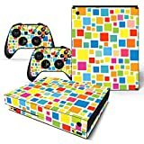 Xinvision Body スキンシール 保護 カバー ステッカー スキン デカール ステッカー アクセサリー #0926 用 Microsoft Xbox One X コンソール と コントローラ