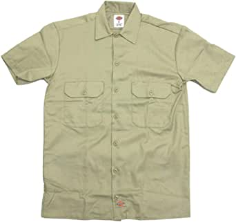 ディッキーズ Dickies ワークシャツ 半袖 1574 ショートスリーブ SHORT SLEEVE WORK SHIRT S M L XL [並行輸入品]