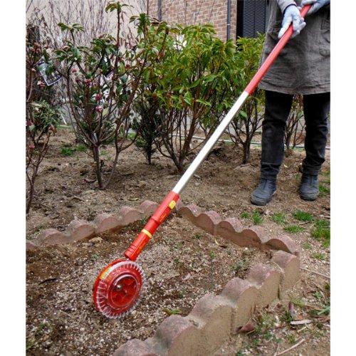 ウルフガルテン:マルチスター種まき機とハンドル[1~5mmまでの種子をほぼ均一にスジまきできる] ノーブランド品