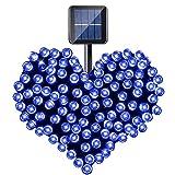 CVLIFE クリスマスイルミソーラー充電式LEDイルミネーション太陽発電10m