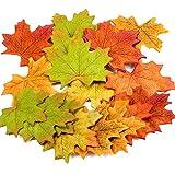 300枚セット 高品質 造花 紅葉 楓の葉 紅葉の季節 人工葉 DIY 撮影小道具 結婚式用 家の装飾