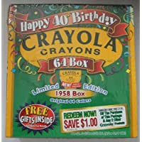Crayola Crayons Happy 40th Birthday Limitedエディション64