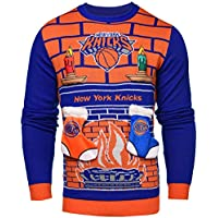 (New York Knicks, XX-Large) - NBA 3D Ugly Sweater