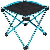 【折りたたみチェア・アウトドア用】 Linkax キャンプチェア コンパクト 軽量 組み立て椅子 耐荷重80kg 専用ケース付き (折り畳みチェア)