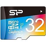シリコンパワー microSD カード 32GB U3 4K動画 最大読込90MB/秒 最大書込80MB/秒 永久保証 SP032GBSTHDU3V20SP
