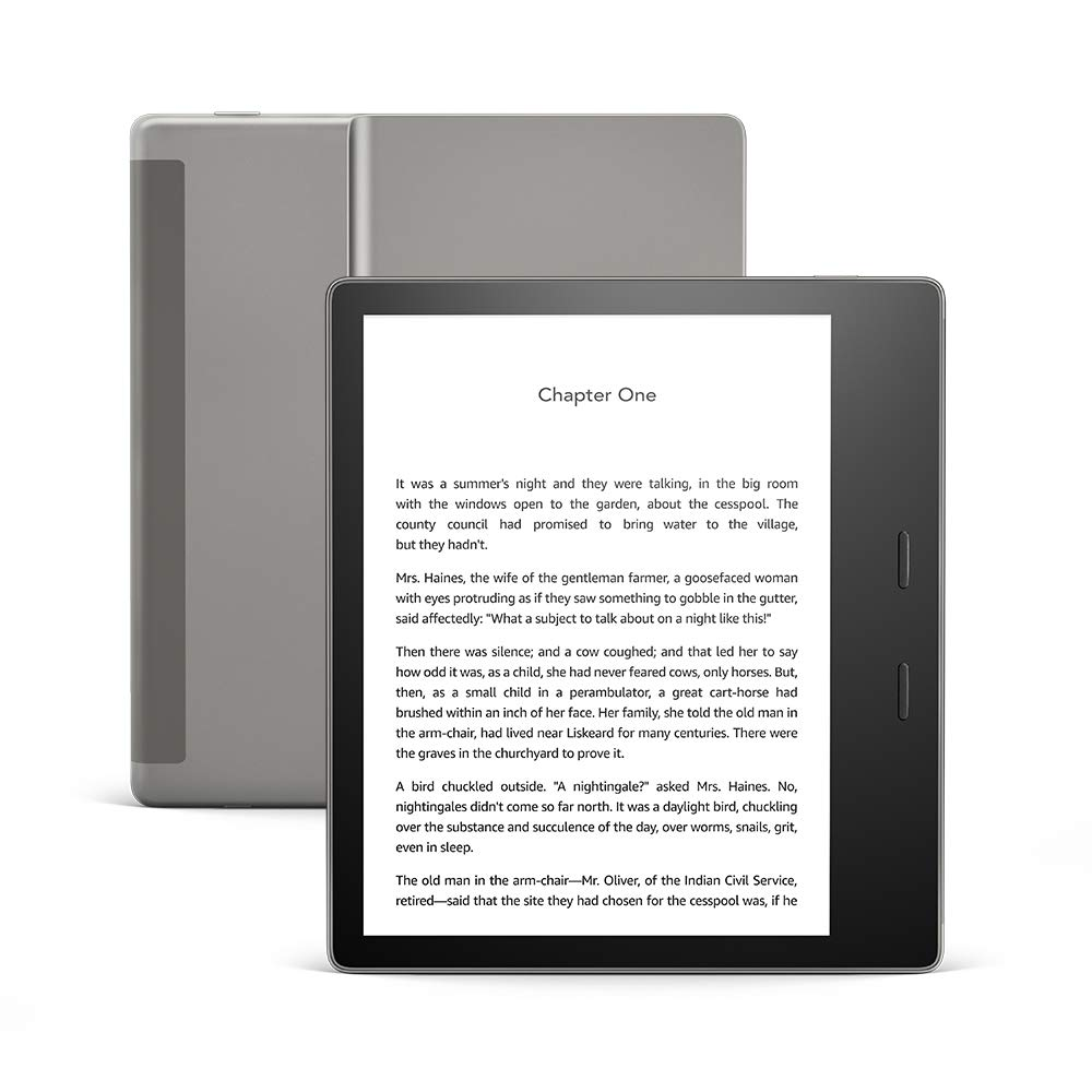"Kindle Oasis - Waterproof, 7"" High-Resolution Display"