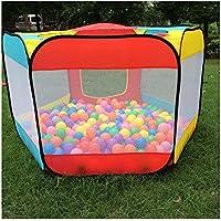 Kids Play Houseテントインドアアウトドア簡単折りたたみBall Pit Hideaway Play Hut