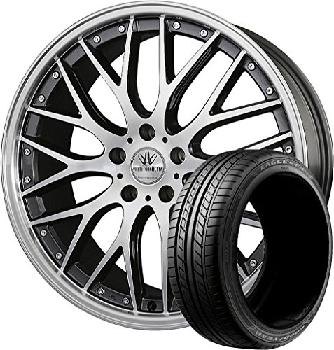 サマータイヤ・ホイール 1本セット 18インチ GOODYEAR(グッドイヤー)イーグル LS EXE 215/45R18 + ロクサーニ マルチフォルケッタ