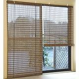 竹ロールスクリーン [176×180cm] ブラウン (SD-031)