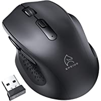 Epeios ワイヤレスマウス 無線マウス 静音 2.4G USB 小型 高精度 5DPI(800-1200-1600…
