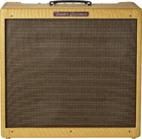 【 並行輸入品 】 Fender (フェンダー) '59 Bassman LTD 50-ワット 4x10インチ Tube Bass コンボアンプ