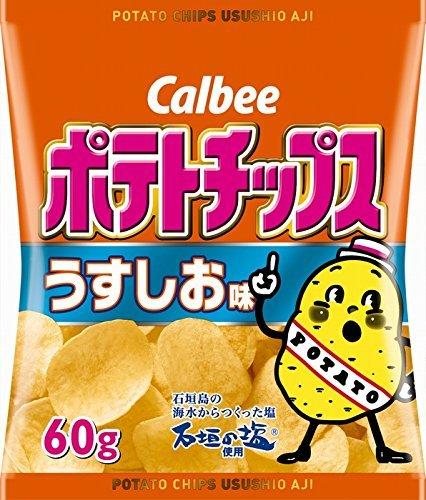 カルビー ポテトチップス うすしお味 60g×12個×2箱