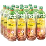 HEAVEN & EARTH Ice Lemon Tea, 1.5 l (Pack of 12)