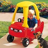 コンパクトタイプの子供用車型乗り物 リトルタイクス社製乗用玩具 コージークーペカー