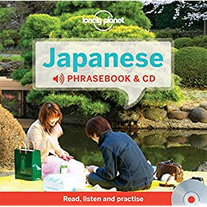 Japanese Phrasebook & Audio CD 3 (Lonely Planet)