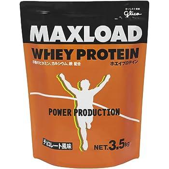 グリコ パワープロダクション マックスロード ホエイプロテイン チョコレート風味 3.5kg