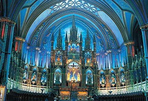 450ピース ジグソーパズル 達人検定マスターピース 青光のノートルダム大聖堂 スモールピース(26x38cm)