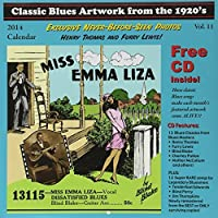 Classic Blues Artwork from the 1920's: 2014 Calendar (+ CD) by Various Artists