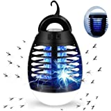 Mosquito Killer Electric Lamp Insect Repellent USB Rechargeable Fly Zapper Indoor Outdoor Pest Control Trap Portable Zappers