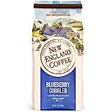 New England Coffee Blueberry Cobbler Medium Roast Ground Coffee 11 oz. Bag