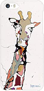 【iPhone 5/5s ケース】VERY Rice!(ベリーライス)iPhone Case「Giraffe by 今井龍満」