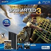 PlayStation 3 (250GB) アンチャーテッド3. アメリカバージョン