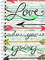 Lang - Perfect Timing Love Where You Go Spiral Journal by LoriLynn Simms, 6 x 8.25, 240 Ruled Pages (1350012)