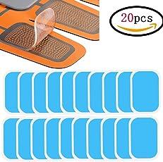 ジェルシート Minbau EMS 交換パッド 腹筋ベルト用 30枚 高電導 腹筋 トレーニング ダイエット シェイプ 脂肪燃焼 互換パッド 粘着パッド